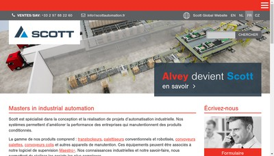 Site internet de Samovie