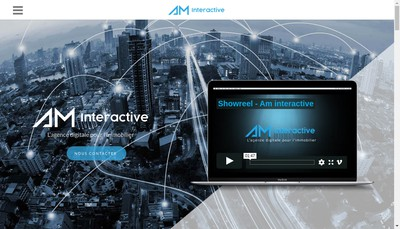 Site internet de Am Interactive