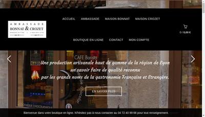 Site internet de Ambassade Bonnat et Crozet