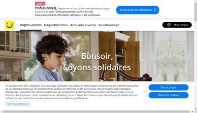 Site internet de Ambiance Fenetres