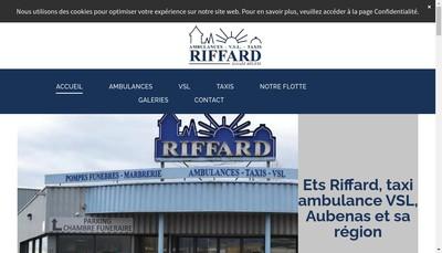 Site internet de Ambulances Pompes Funebres Albenassienne