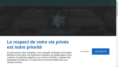 Site internet de Ambulance Feybesse
