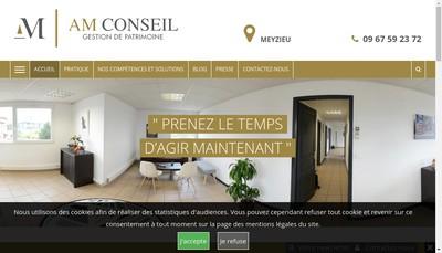 Site internet de Am Conseil