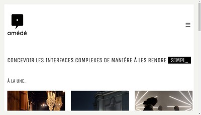 Site internet de Amede