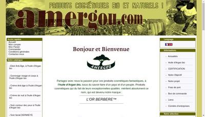 Site internet de Amergou SARL