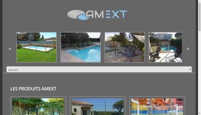 Site internet de Amext