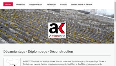 Site internet de Amianteko