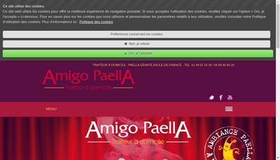 Site internet de Amigo Paella