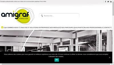 Site internet de AMIGRAF
