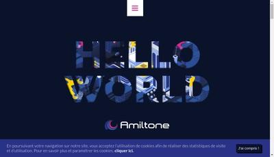Site internet de Amiltone