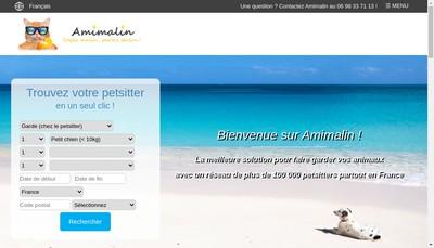 Site internet de Amimalin