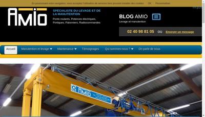 Site internet de AMIO