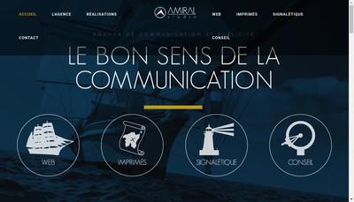 Site internet de Amiral Studio