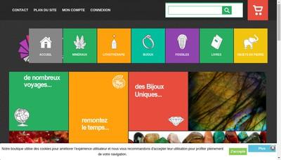 Site internet de L'Ammonite