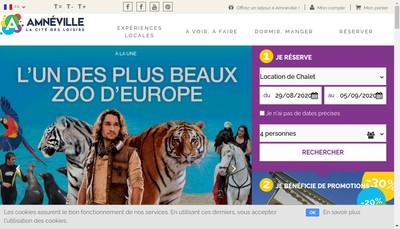 Site internet de Destination Amneville