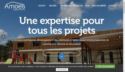 Site internet de Amoes