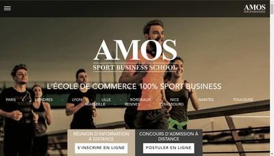 Site internet de Amos