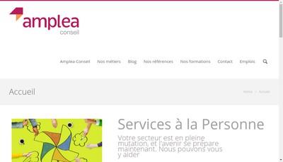 Site internet de Amplea