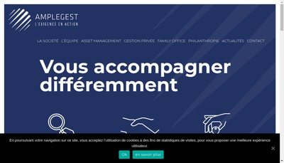 Site internet de Amplegest