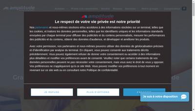 Site internet de Amplitude Auto