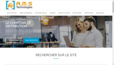 Site internet de AMS Technologies