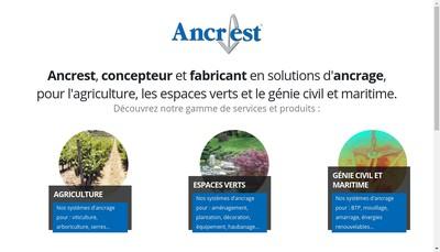 Site internet de Societe Industrie Produit Mecanique Ancr'Est
