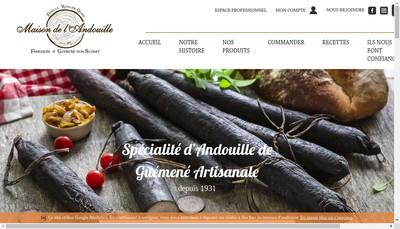 Site internet de Maison de l'Andouille