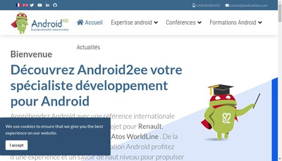 Site internet de Android2Ee