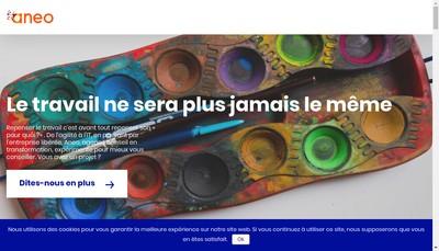 Site internet de Aneo
