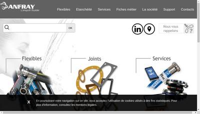 Site internet de Anfray