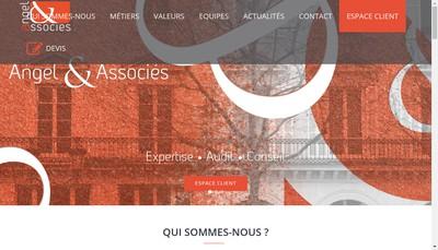 Site internet de Angel & Associes