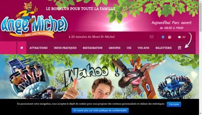 Site internet de L'Ange Michel