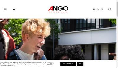 Site internet de Ango Productions