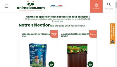 Site internet de Animal &Co