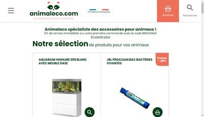 Site internet de Animaleco Com