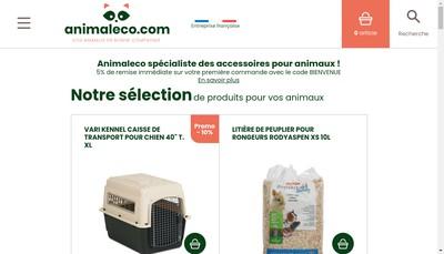 Site internet de Animal & Co