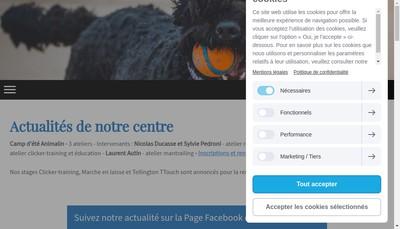 Site internet de Animalin