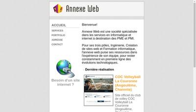Site internet de Annexe Web