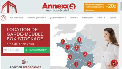 Site internet de Annexx
