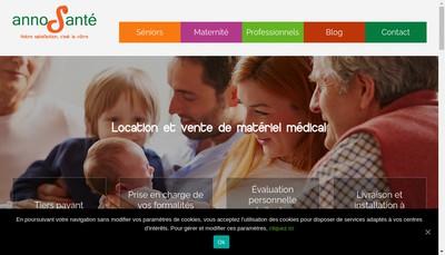 Site internet de Anno Sante