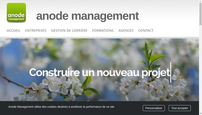 Site internet de Anode Management