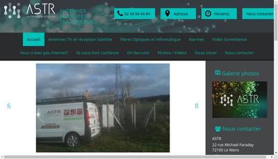 Site internet de ASTR