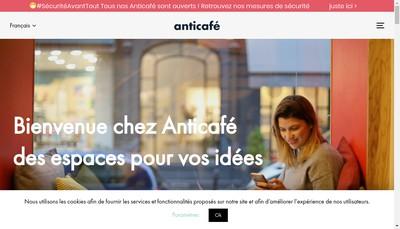 Site internet de Anticafe & Co