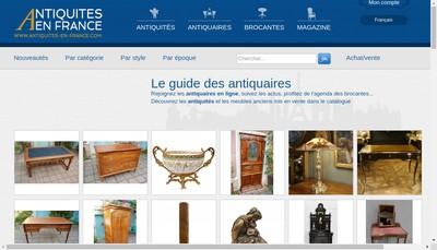 Site internet de Antiquites en France