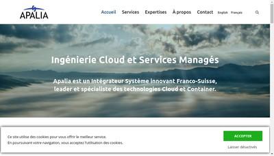 Site internet de Apalia
