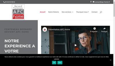 Site internet de Plomberie Chauffage Service de l'Ouest