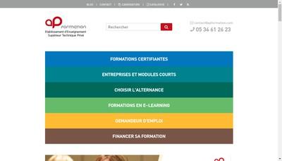 Site internet de Ap Formation