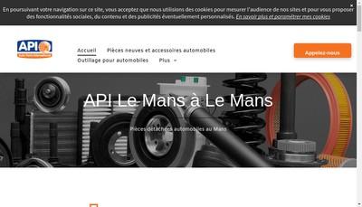 Site internet de Gca Genuine Parts