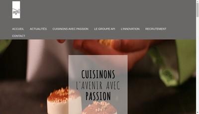 Site internet de Regionale de Restauration