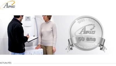Site internet de Apic